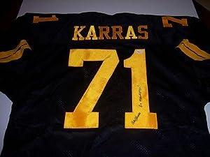 Alex Karras Signed Jersey - Iowa Hawkeyes Jsa hologram - Autographed NFL Jerseys by Sports+Memorabilia