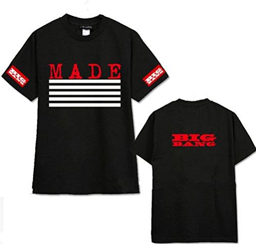 Bigbang World Tour MADE G-Dragon Taeyang T-shirt (L) (Good Boy G Dragon Shirt compare prices)