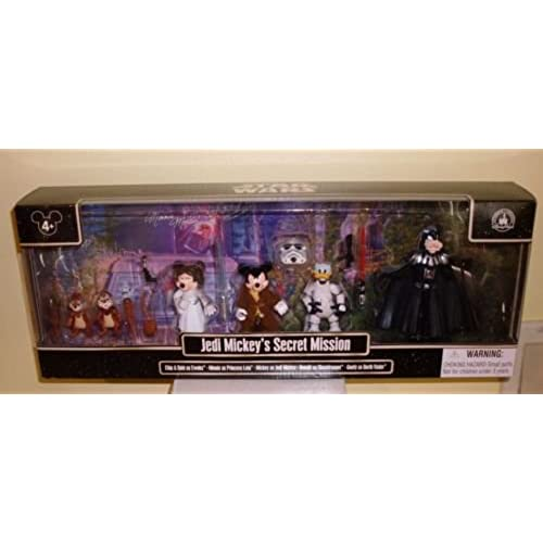 Disney Star Wars Weekends 2015 Jedi Mickey's Secret Mission Figures-