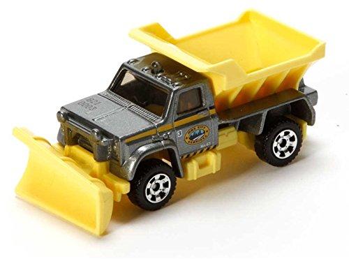 Matchbox MBX S.C.R. 2200 silber-gelb – MBX Construction – Schneepflug Truck LKW kaufen
