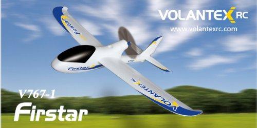 2.4Ghz 4-Channel Radio Control Electric Airplane Firstar Pro Glider Rtf W/Brushless Set Up + Epo Durability