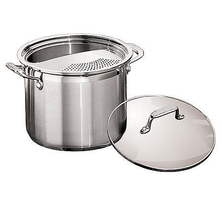 Tramontina 3-Piece 6-qt Multi-Cooker with Tempered Glass Lid