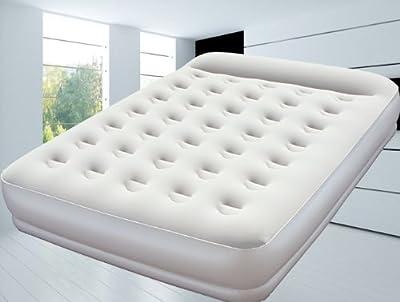 Premium-Luftbett 203x152x38 cm mit integrierter elektr. Pumpe-selbstaufblasend (2 Personen Doppelbett)