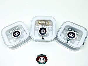 Earphones Skull Beat- B101 - Quality Stereo, Strong Bass Earphones with Mic for SmartPhones, Tablets and Laptop