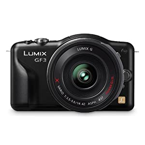 Panasonic Lumix with PZ 14-42mm Retractable Lens