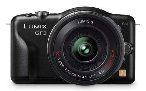 Panasonic Lumix DMC-GF3XK 12.1 MP Micro Four