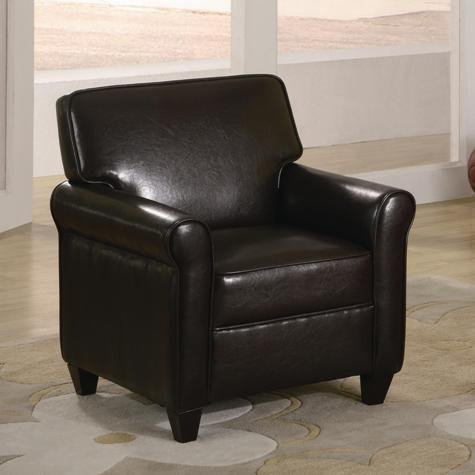 Espresso Kids Chair Seat Childrens Brown Leather