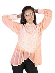 Ethnic For You Fresh Peach Shirt