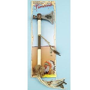 Western Authentic Tomahawk Adult 西洋本物トマホーク大人用♪ハロウィン♪サイズ:One-Size