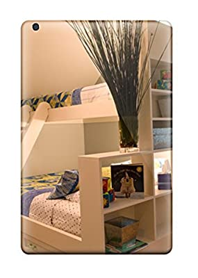 Andrew Cardin's Shop Best Scratch-free Phone Case For Ipad Mini 3- Retail Packaging - White Bunk Beds With Attached Shelving Plus Angled Ceiling 038 Wall Mural
