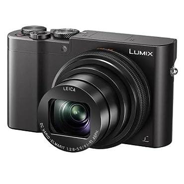 Panasonic Lumix DMC-ZS100 Camera, 20.1MP 4K Video, WiFi, Leica DC Lens with 10X Zoom (Black)