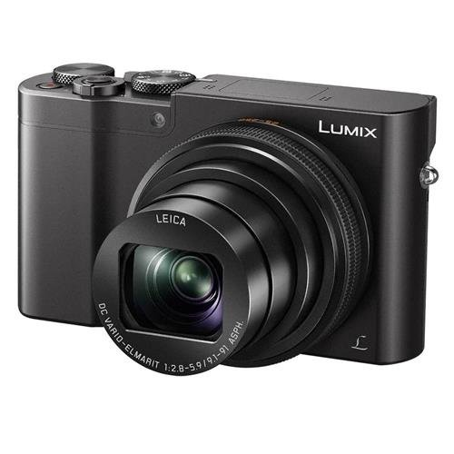 Panasonic LUMIX DMC-ZS100 Camera, 20.1 Megapixels 1-inch Sensor 4K Video, WiFi, 3.0-inch LCD, Leica DC Lens 10X F2.8-5.9 Zoom (Black)