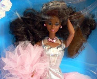 1991 Barbie - Sparkle Eyes - Etincelles dans les yeux - Poupée noire #5950