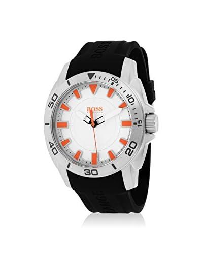 Hugo Boss Men's 1512949 Classic Black/Silver Silicone Watch