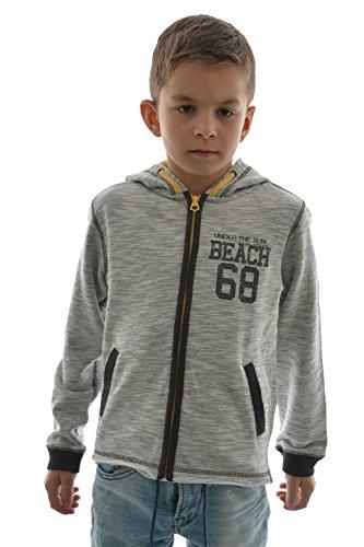 Japan Rags - Felpa - ragazzo grigio 10 anni