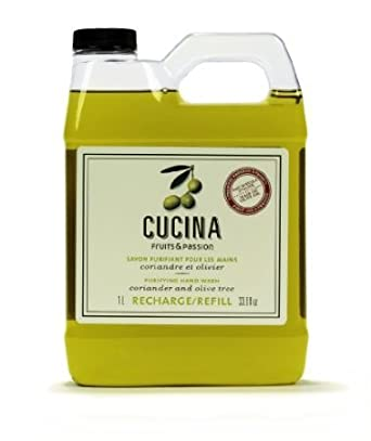 Cucina Purifying Hand Wash Refill - Coriander and Olive Tree 33.8 fl oz