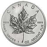 Royal Canadian Mint 1oz 2010 Silver Maple Leaf Uncirculated