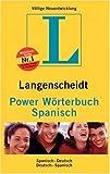 Power Wörterbuch Spanisch. Langenscheidt (3468131348) by N