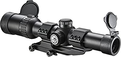 Barska 1-6x24 IR AR6 Tactical Riflescope with Reticle, Black by Barska
