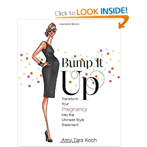 Livro Bump It Up sobre Moda Gestante