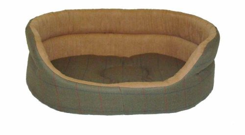 Danish Design Tweed Range Slumber Bed, 40-inch, Green