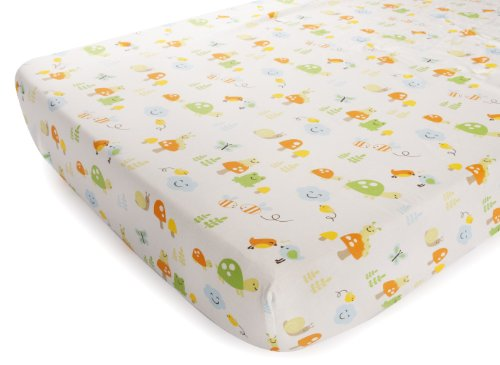 Carter'S Printed Fitted Sheet, Critters front-134916