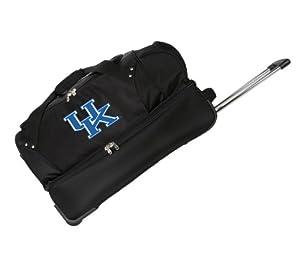 NCAA Denco 27-Inch Drop Bottom Rolling Duffel Luggage by Denco