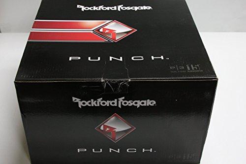 Rockford Fosgate P3D4-15 Punch P3 DVC 4 Ohm 15-Inch 600 Watts RMS 1200 Watts Peak Subwoofer