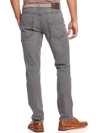 hugo boss orange herren jeans grau w34 l30 figurbetontes 50 dublin bekleidung. Black Bedroom Furniture Sets. Home Design Ideas