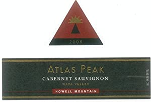 2008 Atlas Peak Howell Mountain Cabernet Sauvignon 750 mL