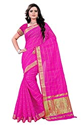 Amigos Fashion Women's Kora Silk Saree (AF-10)