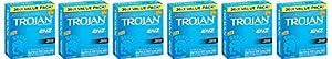 Trojan Condom ENZ cUgaD Lubricated, 36 Count (Pack of 6) qmeMU