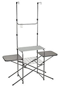 Outbound Portable Deluxe Camp Kitchen (Silver, Large) by Outbound Equipment