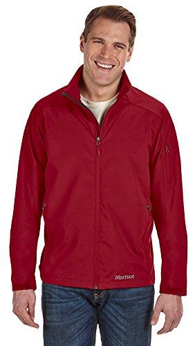 Marmot Men's Approach Jacket, Large, BRICK