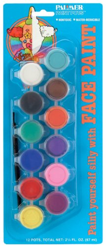 Palmer Face Paints-12PK