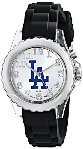 "Game Time Youth Mlb-Flb-La ""Flash Black"" Watch - Los Angeles Dodgers"