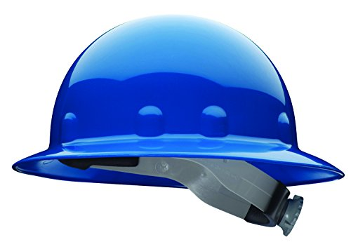 Fibre-Metal by Honeywell E1RW71A000 Super Eight Full Brim Ratchet Hard Hat, Blue (Hard Hat Honeywell compare prices)