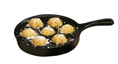 Camp Chef True Seasoned Aebleskiver Cast Iron Pan