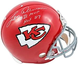 Len Dawson Autographed Hand Signed Kansas City Chiefs Full Size Replica Helmet SB IV... by Hall of Fame Memorabilia
