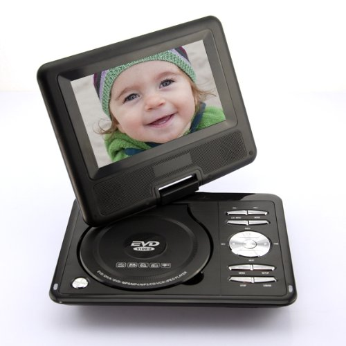 "DB Power 7.5"" Portable DVD Player, Tv Mp4 USB Sd Card Radio Games 270 Degree Swivel TFT 769 Built-in Dual Stereo Speakers at Sears.com"
