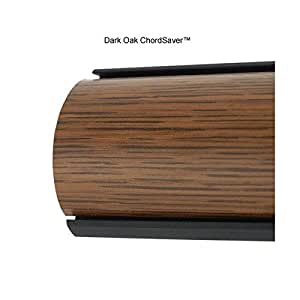 chordsavers chordsaver floor cord covers dark oak electronics. Black Bedroom Furniture Sets. Home Design Ideas