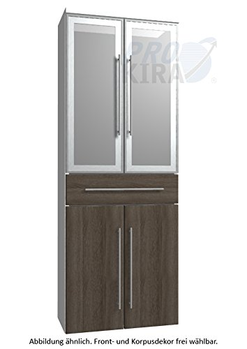 Classic Line Puris (HNA056B7M Bathroom High Cabinet 60 CM