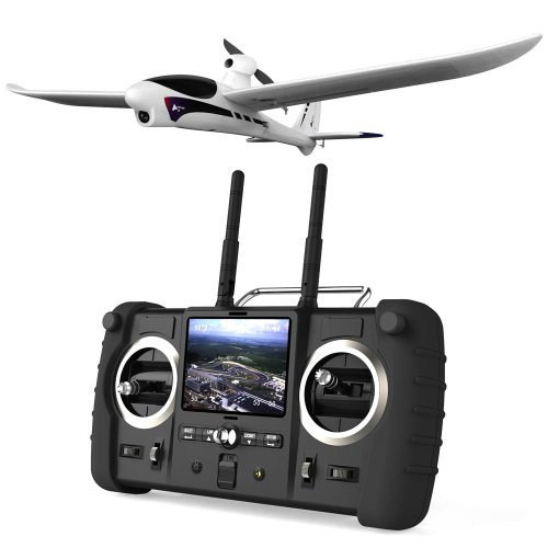 Hubsan Spyhawk Fpv Rc Plane & 3.5 Inch Lcd Monitor/Controller With Video Recording And Auto-Pilot System - Version 3