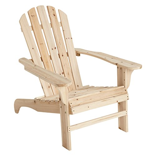 Cedar Adirondack Chair 35 3 4in L x 30 1 2in W x 35 1