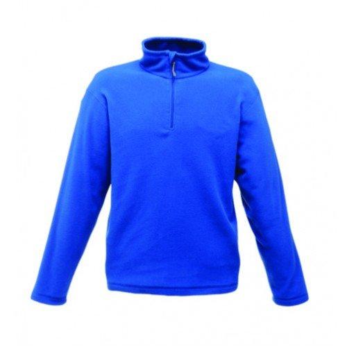 Regatta RG134 Men's Micro Zip Neck Anti Pill Fleece Jacket, XXX-Large, Seal Grey