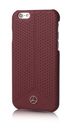 mercedes-benz-pure-line-coque-en-cuir-pour-iphone-6-6s-rouge