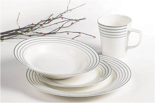 Details for Fantastic 16 Piece Fine New Bone China Dinner Set