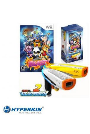 Wicked Monster Blast! Bundled With 2 Free Blasters For Nintendo Wii (Free Handhelditems Sketch Universal Stylus Pen)