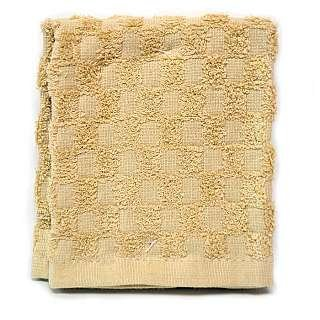 Organic Collection Terry Dish Cloths - 2/PK SAND