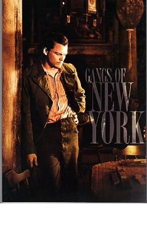 映画パンフレット 「ギャング・オブ・ニューヨーク」 出演 レオナルド・ディカプリオ/キャメロン・ディアス